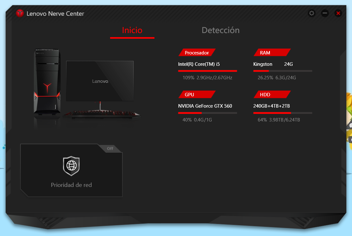 Lenovo Nerve Center 1.01.0420 - Spanish
