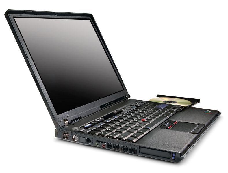 File:ThinkPadT41 open withDVD.jpg